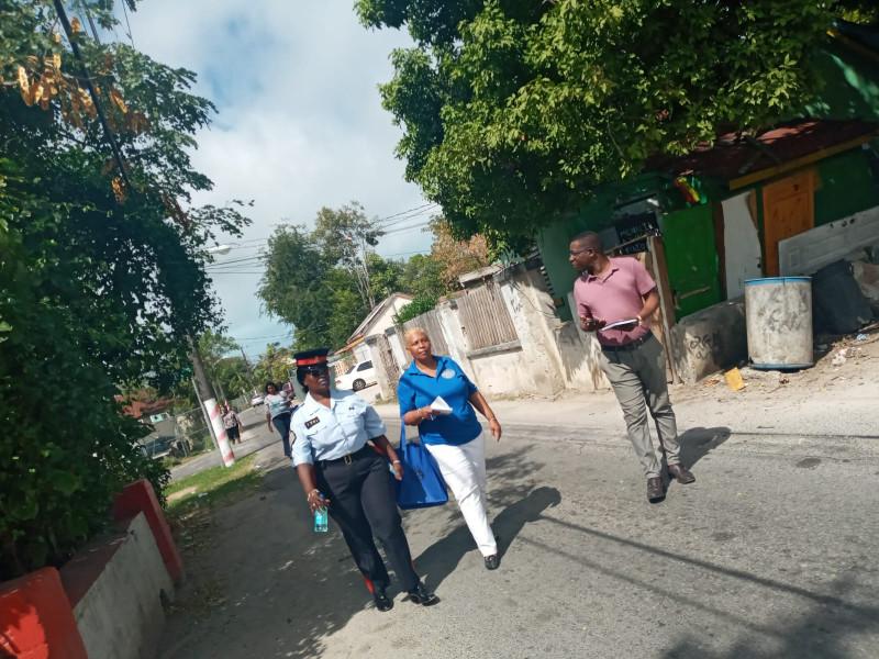 OTHCDPI & Urban Renewal Community Walk About